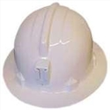 PROTECTOR HH40 Miners ABS Safety Hat White