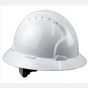 JSP EVO6161 FuLL BRIM™ White WHEEL RATCHET HAT